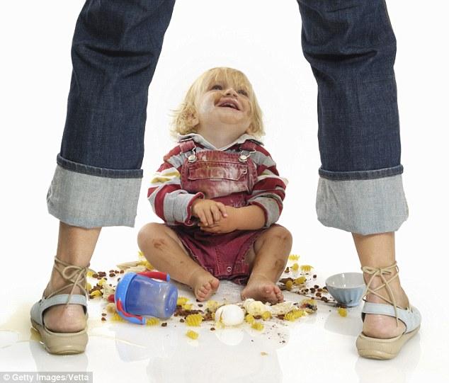 Misbehaving Toddler