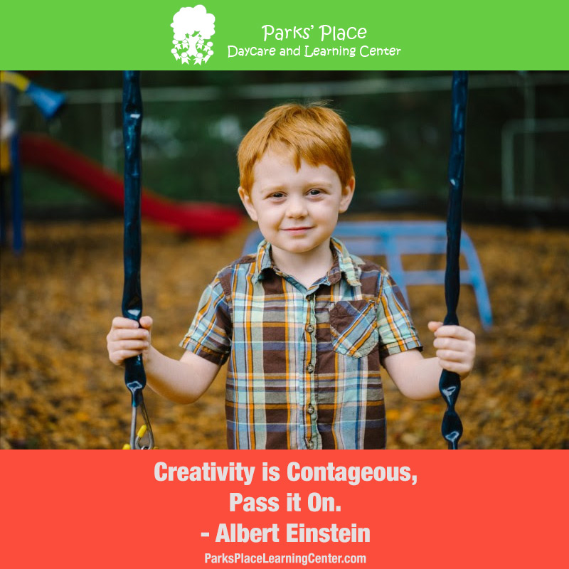 Creativity is Contageous, Pass it On - Albert Einstein