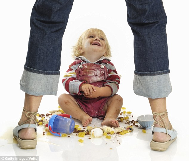 """Dealing with a Toddler's """"Bad"""" Behavior"""
