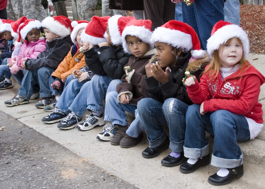 The children of U.S. Army personnel attend a Christmas party at Fort Gordon, Ga., Nov. 28, 2008. (U.S Army photo by Frank H. Carter/Released)