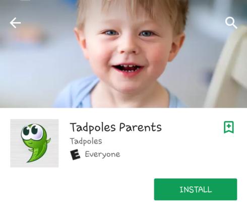 Tadpole Parents App