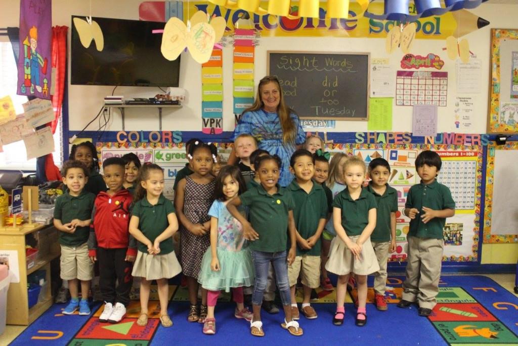 Park's Kids in Uniforms