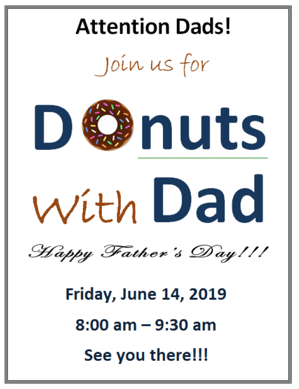 Donuts w/ Dad