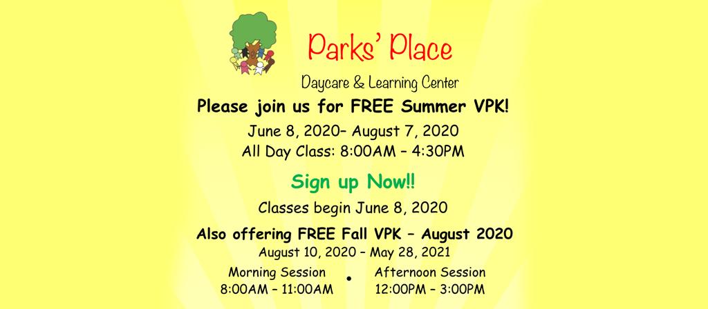 FREE Summer VPK – Argyle, Jacksonville, FL