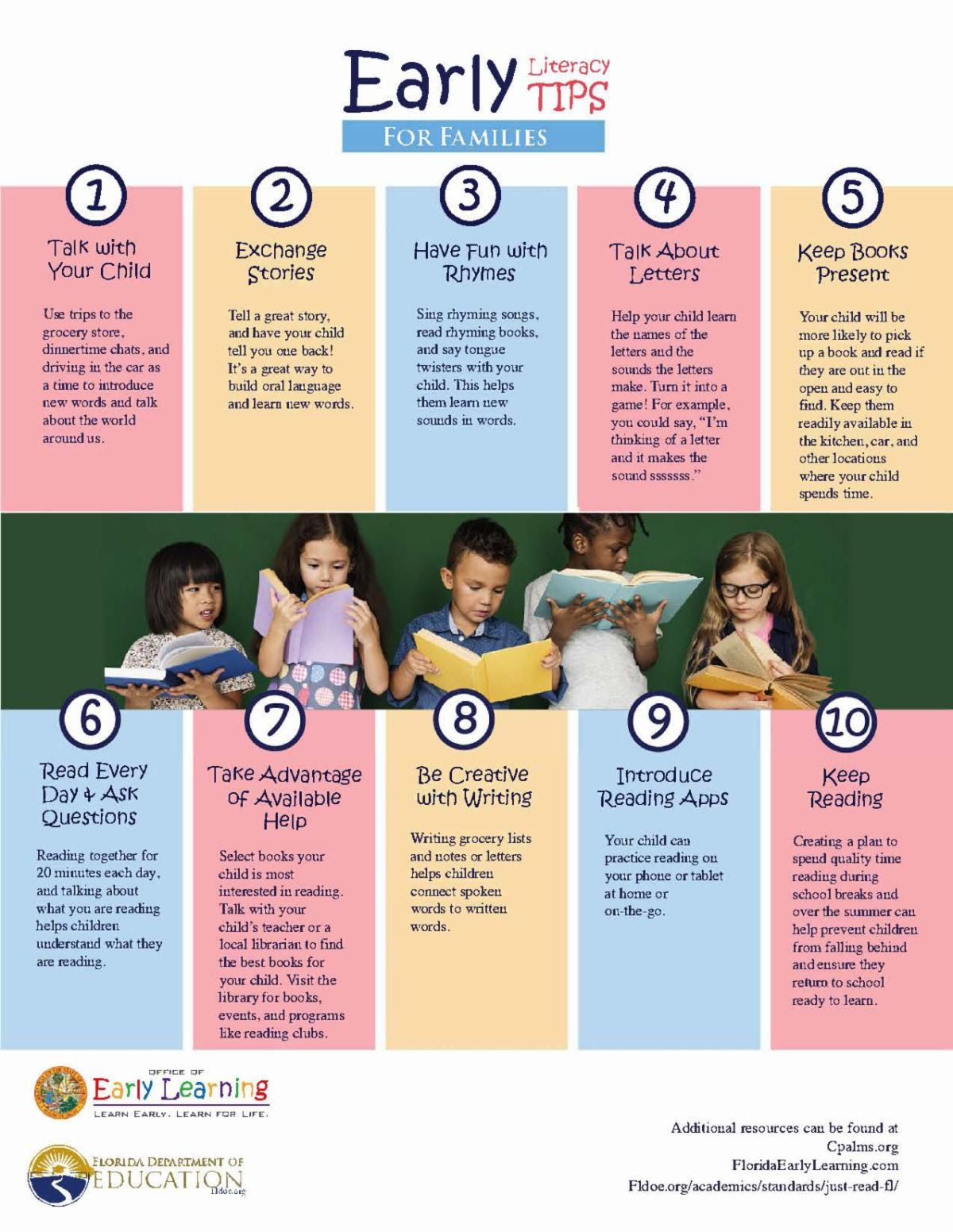 Promote Early Literacy